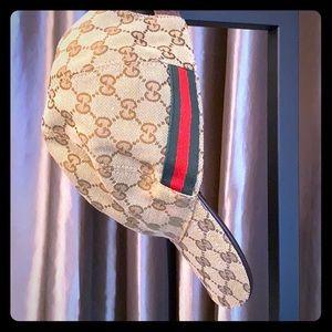 Gucci Web GG Baseball Hat